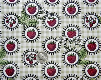 Botanica Strawberry - Fabric by the Yard