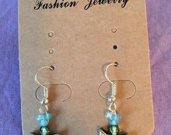 Beaded Butterfly Earrings