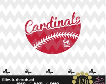 Cardinals Ball svg,png,dxf,cricut,silhouette,jersey,shirt,proud svg,birthday,invitation,sports,cutting,baseball,softball,st louis,missouri