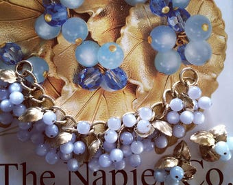 Fablous Napier Moonglow Bracelet and Earring set
