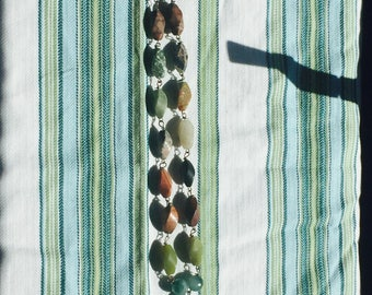 Earthy Stone Bead Necklace
