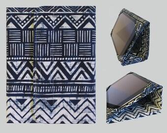 iPad Cover Hardcover, iPad Case, iPad Mini Cover, iPad Mini Case, iPad Air Case, iPad Pro Case, iPad 2, iPad 3, iPad 4 Blue Tribal