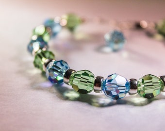 Safe & Sound (Health and Protection) Therapeutic Sacred Energy Infused Swarovski Crystal Healing Bracelet by Crystal Vibrations Jewelry