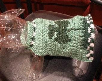 TWINKLE LITTLE SHAMROCK - St Patricks Day Sweater - 2 to 20 Lb Dogs
