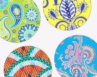 Bohemian Prints - 12mm x 12mm Round Earring and Pendant Images - Digital Sheet - Pendant Images - Buy 2 Get 1 Free - Digital Download
