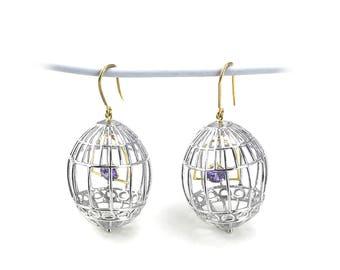 """Earrings """"Lovely Satellites"""""""