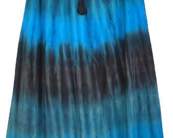 Maxi Womens Skirt in Cascading Colors