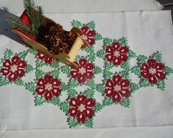 Crochet doily handmade for Christmas tree