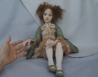 Аlexandra art doll ooak