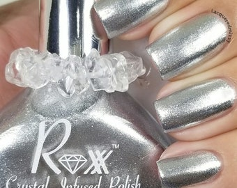 Clear Quartz Polish - Intuition - Trust your Gut - Crystal Infused Nail Polish - Crystal Energy - Vegan - Non-Toxic