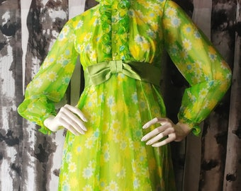 Green Is Groovy Maxi Dress