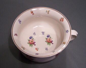 Vintage Floral Chamber Pot
