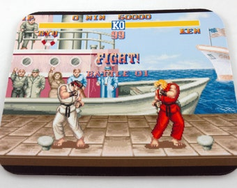 SNES Mouse Pad - Street Fighter II