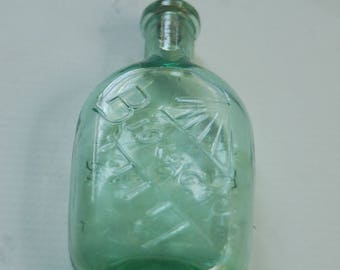 Old Glass Bottle - Biolactyl from Paris with Cork