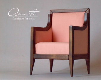 BJD doll furniture , armchair for doll MSD 1/4