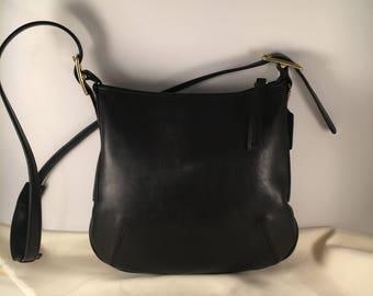 Coach Bag / Vintage Coach Bag / Coach Purse / Vintage Coach Slim Line Duffle Bag / Coach Bag 9204