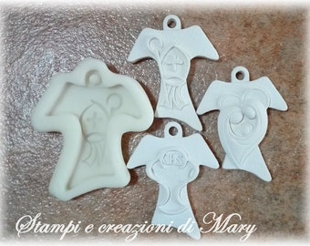 Tau Mold, communion chalice, Confirmation, Holy Family, placeholders favor
