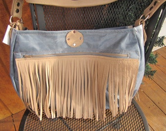 Close out: A little bit country, Genuine Leather purse with shoulder strap #301