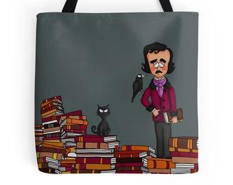 Edgar Allan Poe, Tote Bag