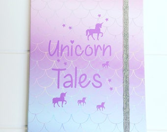 Dolly's Handmade Notebooks - Unicorn Tales