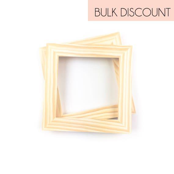 6x6 bulk unfinished wood frames 6x6 picture frames wholesale unfinished frames - Wooden Picture Frames In Bulk