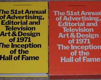1971 51st Art Directors Annual of Advertising, Editorial, Television Art and Design