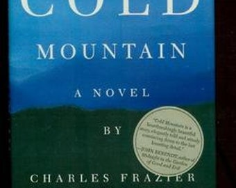 Cold Mountain Charles Frazier signed First/1st edition/printing