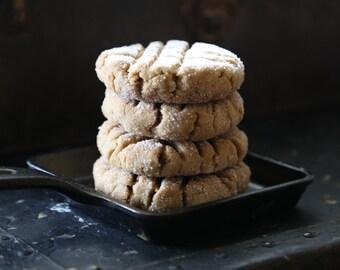 6 Quarter Pound Vegan Peanut Butter Cookies