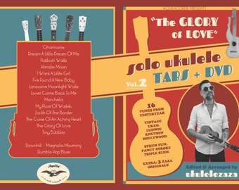 The Glory of Love - Ukulele Tabs Book + DVD Vol.2