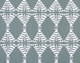 "Premier Prints Fabric-POW WOW-Sundown Gray-OR-Choice of Color--54"" wide-Premier Prints Fabric By The yard-decorator fabric"