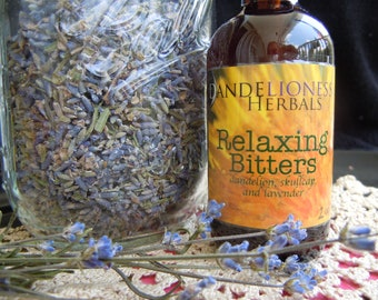 Relaxing Bitters: Dandelion, Skullcap, and Lavender for Calm Digestion and Liver Support