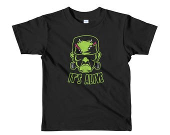 Frankenstein Shirt | Goth Kids Clothes | Punk Kids | Horror Kids | Monster Kids | Halloween Shirt | Classic Horror | Toddler Shirt
