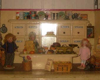 Antique German Toy General Store