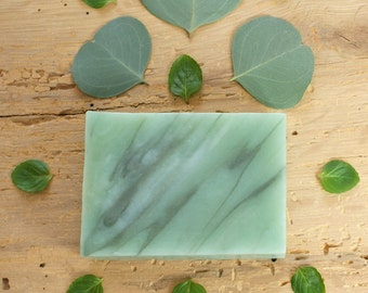 Eucalyptus Mint Soap | Herbal Soap, Natural Soap, Essential Oil Soap, Cold Process Soap, Gift Idea For Friends, Soap for Her, Boyfriend Gift