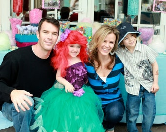 Mermaid Tutu by Atutudes As seen in Ok Magazine and designed for Hollywood Hot Moms For Trista Sutter's daughter Blakesley