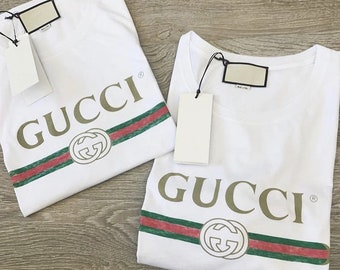 Gucci Shirt unisex Women Men Gucci T shirt White Tee Gucci inspired tee Gucci belt logo unisex shirt - Givenchy  Gosha Givenchy Versace