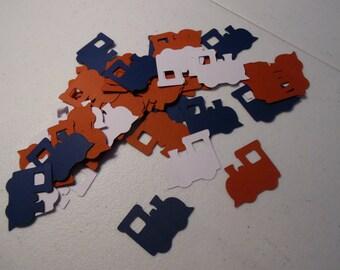 Train Birthday Confetti - Train Party Confetti-  Train Baby Shower Confetti