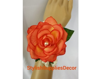500pcs orange petals orange rose petals orange wedding petals