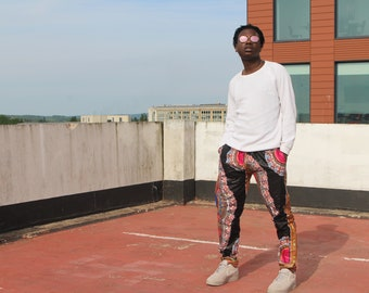 Wax Print Trousers/Pants