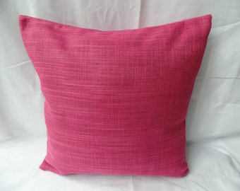 """16"""" Modern pink, cerise cushion cover, scatter cushion, pillow case"""