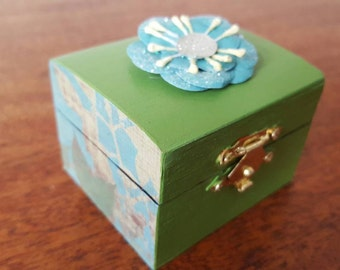 Mini Decorative Keepsake Box