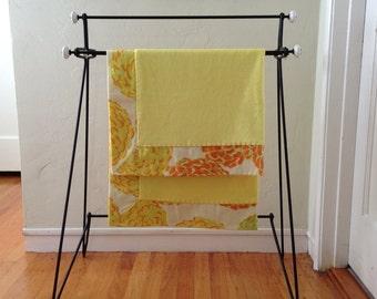 Yellow Dahlia Cuddly Baby Blanket