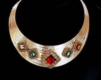 Choker of Byzantine style necklace