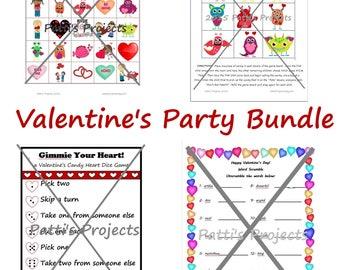 Valentine's Party Games Bundle - Digital Download