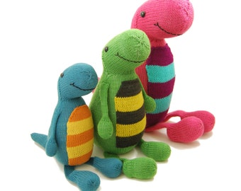 Terence the Tap Dancing T-Rex Knitting Pattern Pdf INSTANT DOWNLOAD
