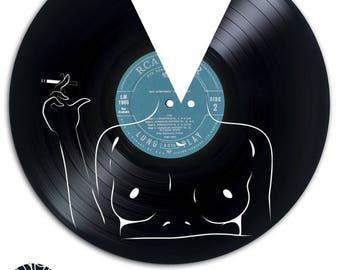 Smoking Girl - Art and Creation on vinyl record