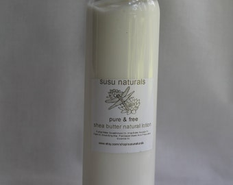 All natural deliciously scented body lotion