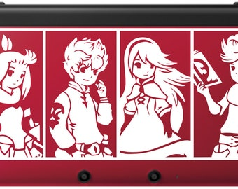 Bravely Default Team Decal