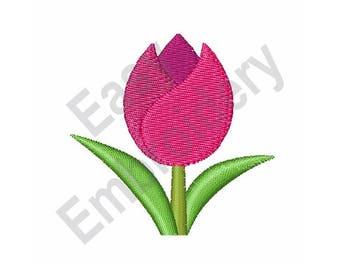 Tulip - Machine Embroidery Design