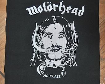 Motörhead No Class Lemmy BACK PATCH